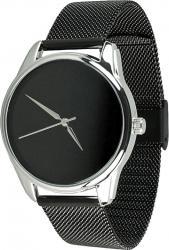 Женские часы ZIZ Минимализм черный (ремешок из нержавеющей стали черный)