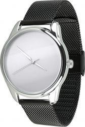 Женские часы ZIZ Минимализм (ремешок из нержавеющей стали черный)
