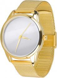 Женские часы ZIZ Минимализм (ремешок из нержавеющей стали золото)