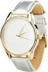 Женские часы ZIZ Минимализм (ремешок металлик, золото)