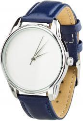 Женские часы ZIZ Минимализм (ремешок ночная синь, серебро)