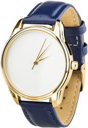 Женские часы ZIZ Минимализм (ремешок ночная синь, золото)