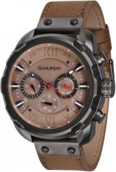 Мужские часы Guardo P11179 GrBrBr