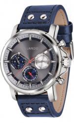 Мужские часы Guardo P11214 SGrBl