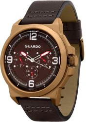 Мужские часы Guardo P11367 BrBrBr