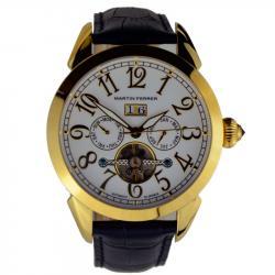 Мужские часы Martin Ferrer 13191A/G (черн.рем)