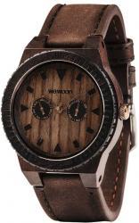 Мужские часы WeWood Leo Leather Chocolate