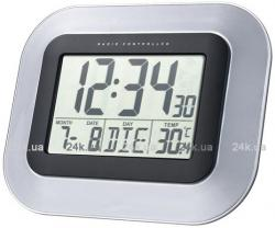 Настольные часы La Crosse WS8005BLA-SIL