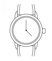 Женские часы Christina 334SWBL
