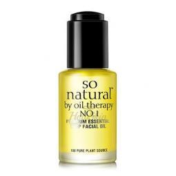 Увлажняющее питательное масло для лица So'Natural Concentrate Premium Essential Deep Facial Oil