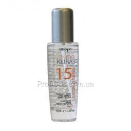 Жидкие кристаллы для блеска волос с термозащитой Dikson Keiras Finish Cristalli Densi 15