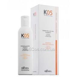Шампунь для восстановления баланса секреции сальных желез Kaaral K05 Hair Care