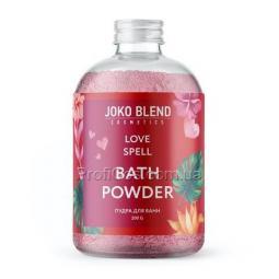 Бурлящая пудра для ванны для упругости тела Joko Blend Love Spell