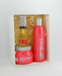 Мультиактивный восстанавливающий набор для уставших и ослабленных волос 3в1 Nuance
