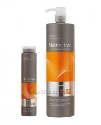 Питательный и увлажняющий шампунь для волос с коллагеном и эластином Erayba Nutriactive Collastin Shampoo N12