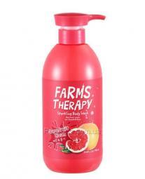 """Освежающий гель для душа """"Грейпфрут"""" на основе минеральной воды Daeng Gi Meo Ri Doori Cosmetics Farms Therapy Sparkling Body Wash for Smooth and Shine Grapefruit"""