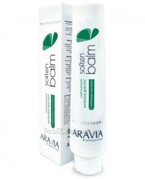 Фото Смягчающий бальзам для ног с эфирными маслами Aravia  Soft Balm
