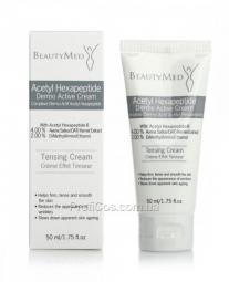 Биоактивный крем для лица с ацетил гексапептидом Beautymed