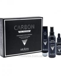 Корректирующий карбоновый пилинг-комплекс для обновления кожи лица Aravia Professional