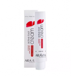 Активный крем для ног с камфорой и перцем Aravia Professional Active Foot Cream, 100 мл