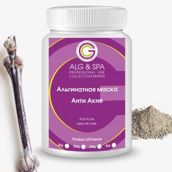 Фото Альгинатная маска для лица  Анти акне  Alg&Spa