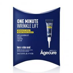 Омолаживающая ампула для лица от морщин с аргирелином Neogen Dermalogy Agecure One Minute Wrinkle Lift