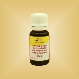 Антисептический гель-кератолитик для маникюра и педикюра Nikol Professional Cosmetics