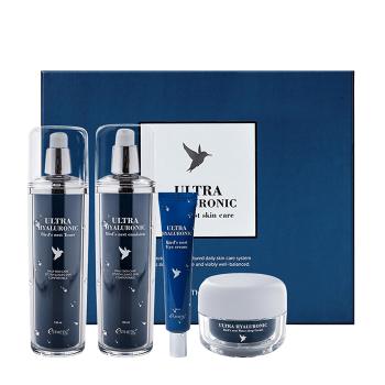 Фото Антивозрастной набор для ухода за кожей лица с экстрактом ласточкиного гнезда Esthetic House Ultra Hyaluronic Acid Bird's Nest Skin Care Set