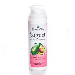 """Йогурт для лица и тела """"Авокадо"""" с маслом ши Hedera Vita Yogurt For Face And Body Avocado, 150 мл"""