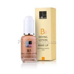 Тонирующая подсушивающая эмульсия для проблемной кожи лица c ниацинамидом Dr. Kadir B3-Drying Lotion+Make Up Problematic Skin