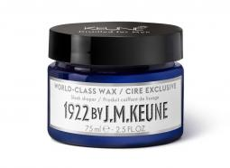 Воск экстра-класса для укладки мужских волос с маслом каннабиса Keune 1922 World-Class Wax Distilled For Men