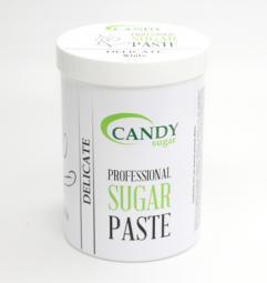 """Белая сахарная паста для шугаринга """"Средняя"""" CANDY Sugar «White» Delicate, 1300 гр"""