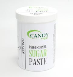 """Белая сахарная паста для шугаринга """"Твердая"""" CANDY Sugar «White» Strong, 1300 гр"""