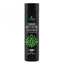 Увлажняющая бальзам-маска с маслом каннабиса для поврежденных волос Anagana Cannabis Moisturizing Balm-Mask 2 in 1 for damaged hair