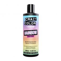 Безсульфатный радужный кондиционер для волос Crazy Color Rainbow Care Conditioner