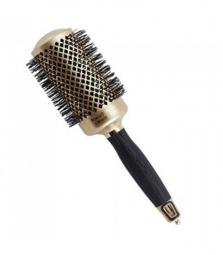 Брашинг для волос d.54 мм Olivia Garden NANO THERMIC 50 YEARS LTD GOLD EDITION
