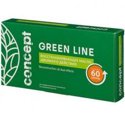 """Восстанавливающее масло для волос """"Двойное действие"""" Concept Green line Reconstruction oil dual effect"""
