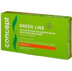 Восстанавливающий лосьон от выпадения волос Concept Green line Revitalizing No Loss Lotion