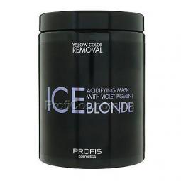 "Маска для волос ""Антижелтая"" Profis Ice Blonde"