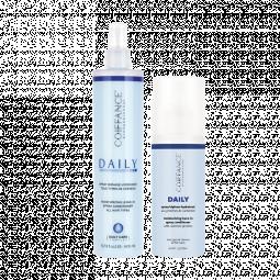 Двухфазный увлажняющий спрей-кондиционер для всех типов волос с протеинами кашемира Coiffance professionnel Daily Moisturizing Leave-In Spray
