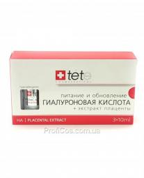 Гиалуроновая кислота + экстракт плаценты для лица TETe Cosmeceutical