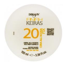 """Фиксирующий воск для волос на основе ароматизированной воды """"Лимон"""" Dikson Keiras Finish Water Based Fixing Wax for Hair 20"""