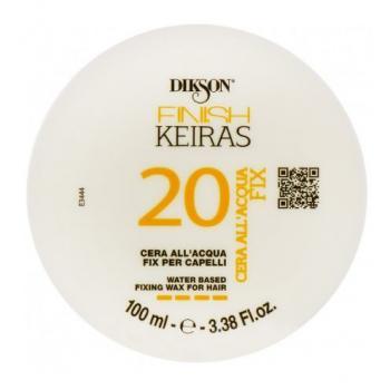 Фото Фиксирующий воск для волос на основе ароматизированной воды  Лимон  Dikson Keiras Finish Water Based Fixing Wax for Hair 20