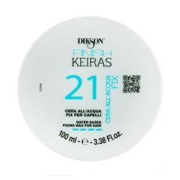 """Фиксирующий воск для волос на основе ароматизированной воды """"Морской"""" Dikson Keiras Finish Water Based Fixing Wax For Hair"""