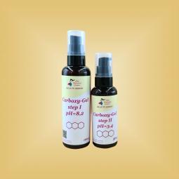 Гели для карбокситерапии кожи лица 1-я и 2-я фазы (плотные гели) 10 процедур Nikol Professional Cosmetics