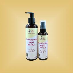 Гели для карбокситерапии кожи лица 1-я и 2-я фазы (плотные гели) 20 процедур Nikol Professional Cosmetics