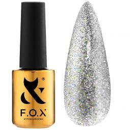 Гель-лак для ногтей 002 F.O.X Sphynx Cat Eye, 7 мл