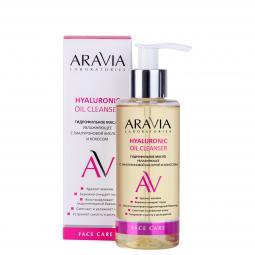 Гидрофильное масло увлажняющее с гиалуроновой кислотой и кокосом для лица ARAVIA Laboratories Hyaluronic Oil Cleanser