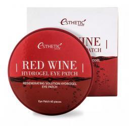 Гидрогелевые патчи под глаза с экстрактом красного вина Esthetic house Red Wine Hydrogel Eye Patch
