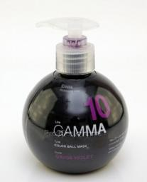 """Маска для поддержания цвета волос """"Фиолетовый"""""""" ERAYBA GAMMA G10/88 Color Ball Mask"""